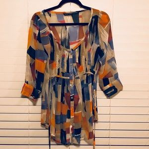 New York & Compant patterned blouse